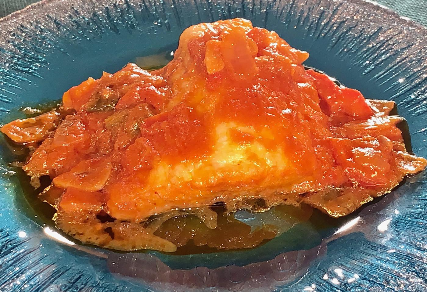 Restaurante Casa Garrido: Bacalao con tomate