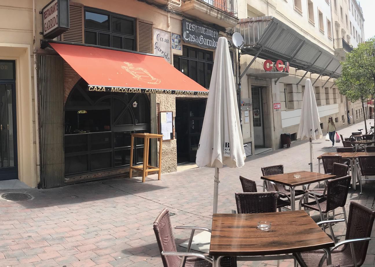 Restaurante Casa Garrido: Vista exterior del Restaurante Casa Garrido (Soria)