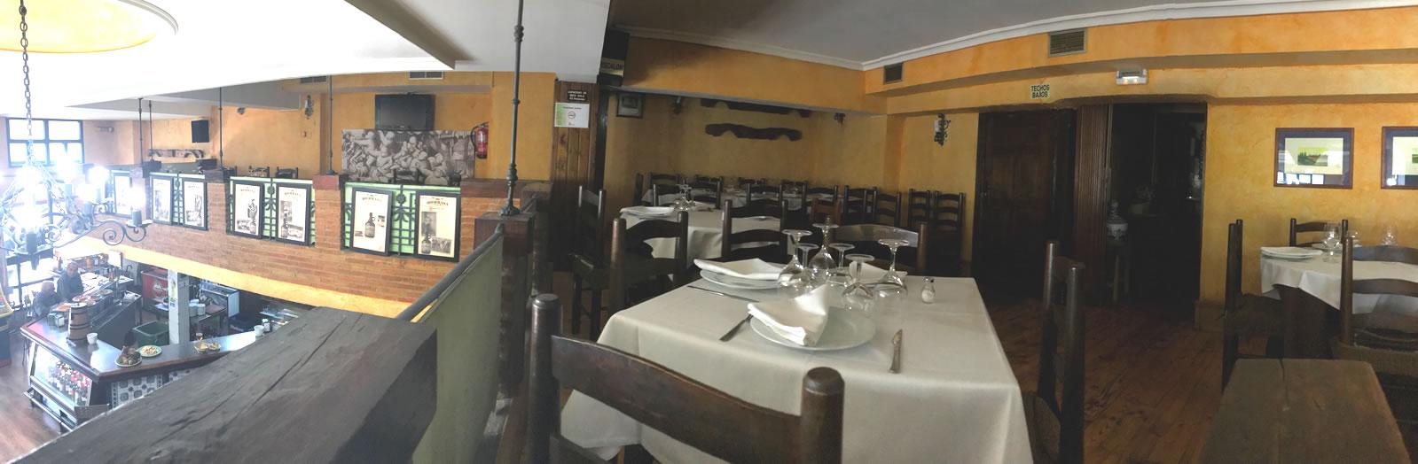 Restaurante Casa Garrido: Vista 2ª planta del Restaurante Casa Garrido (Soria)