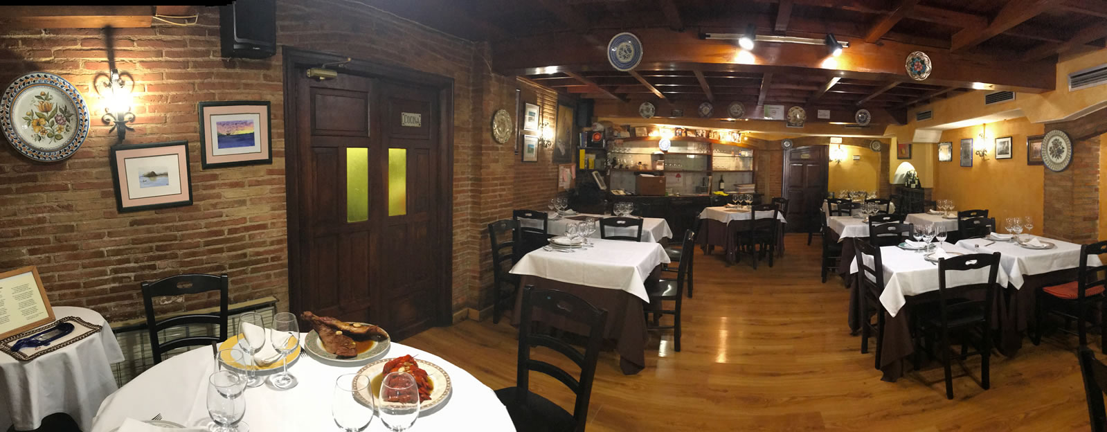 Restaurante Casa Garrido: Vista General del Restaurante Casa Garrido (Soria)