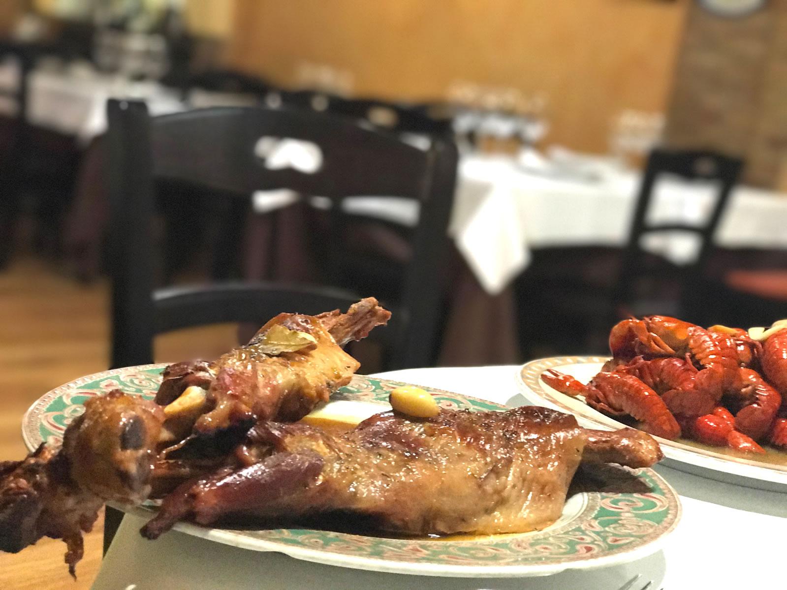 Restaurante Casa Garrido: Algunos platos de la carta del Restaurante Casa Garrido (Soria)
