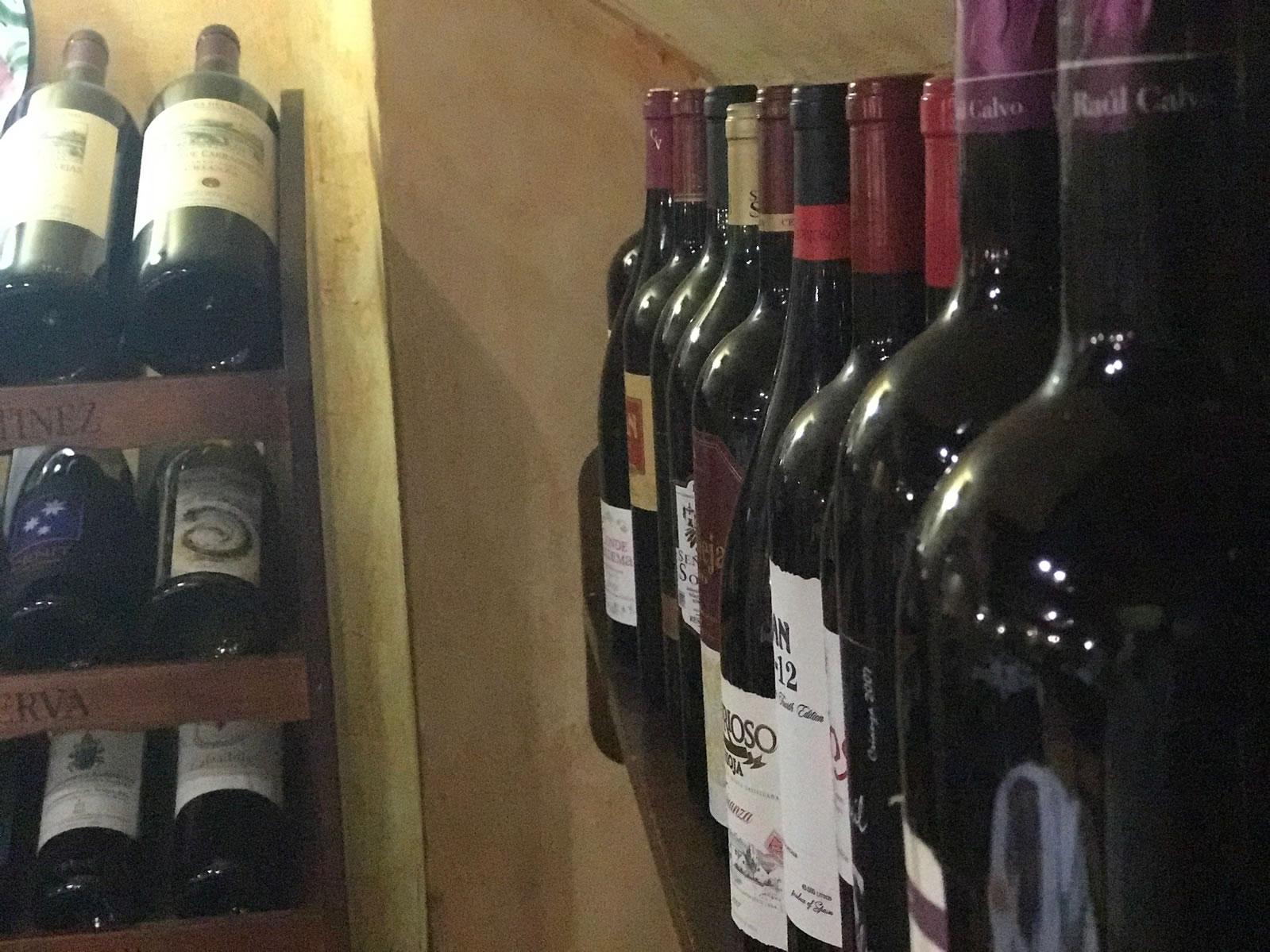 Restaurante Casa Garrido: Vinos del Restaurante Casa Garrido (Soria)