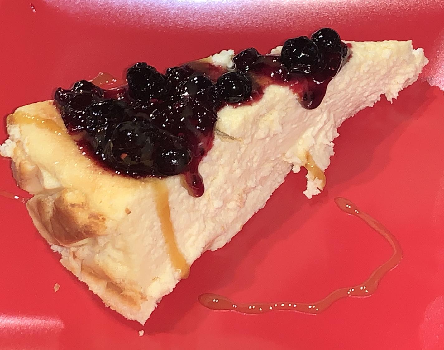 Restaurante Casa Garrido: Tarta de queso casera