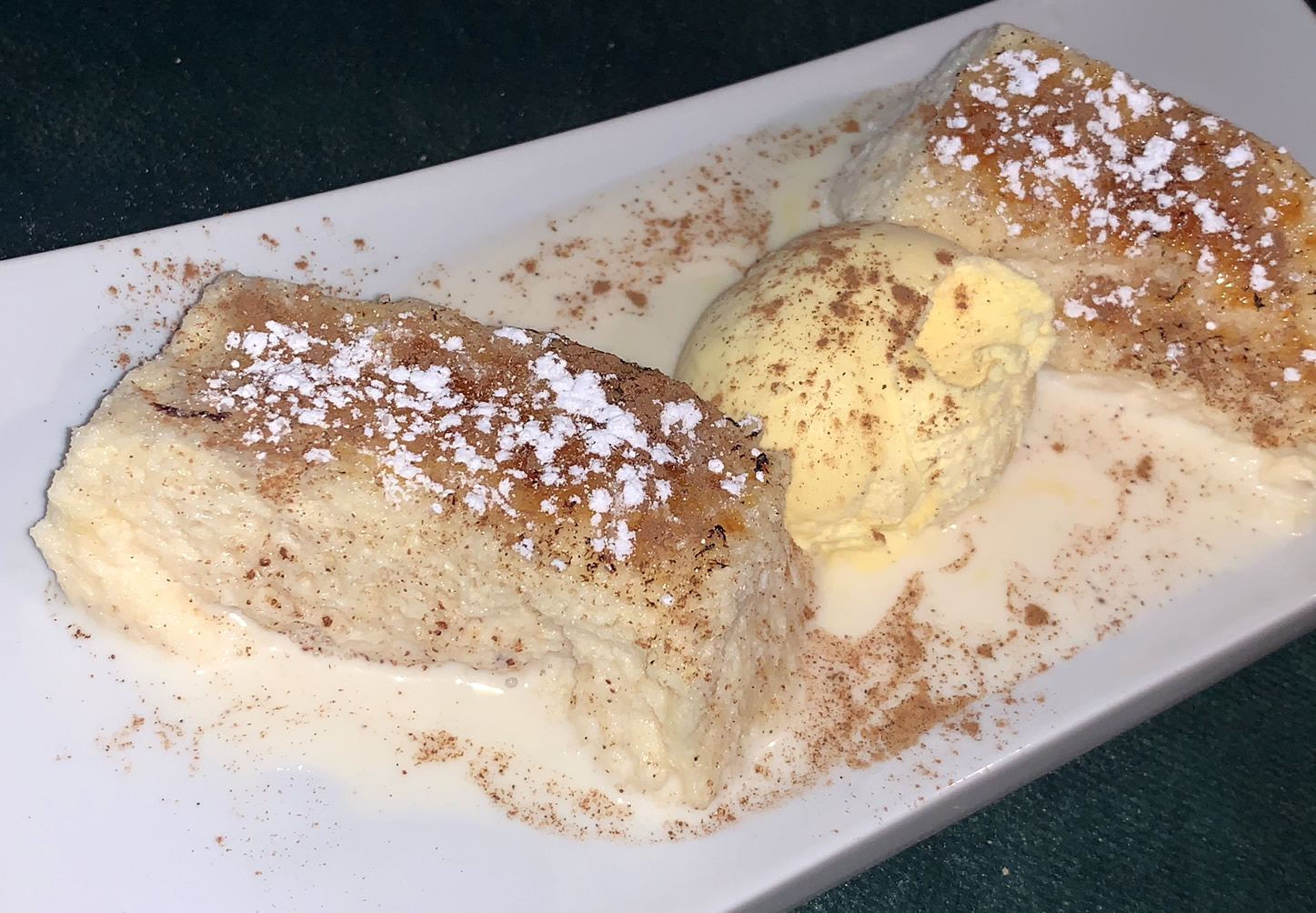 Restaurante Casa Garrido: Torrija con helado
